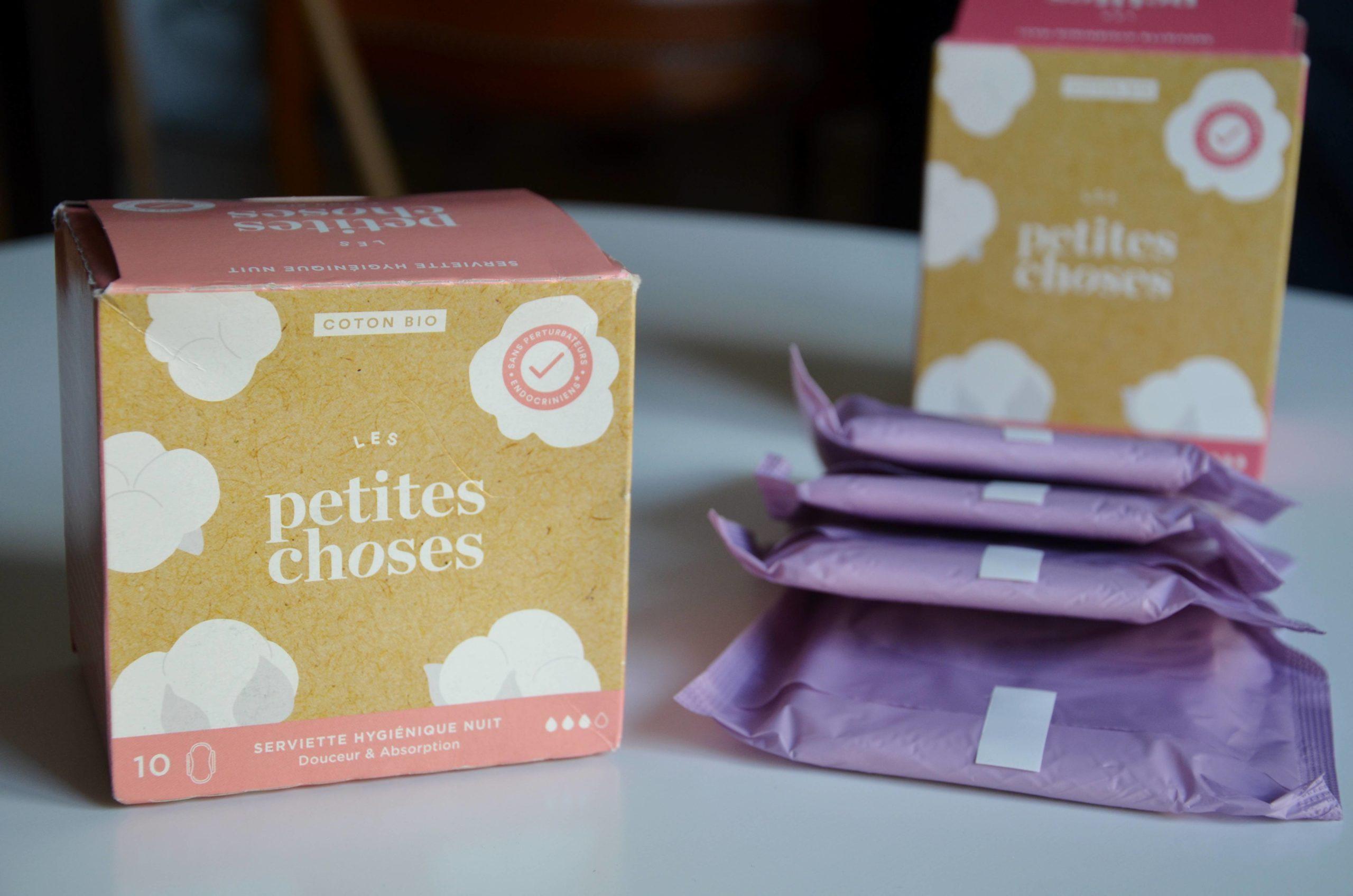 Les serviettes hygiéniques saines Les Petites Choses