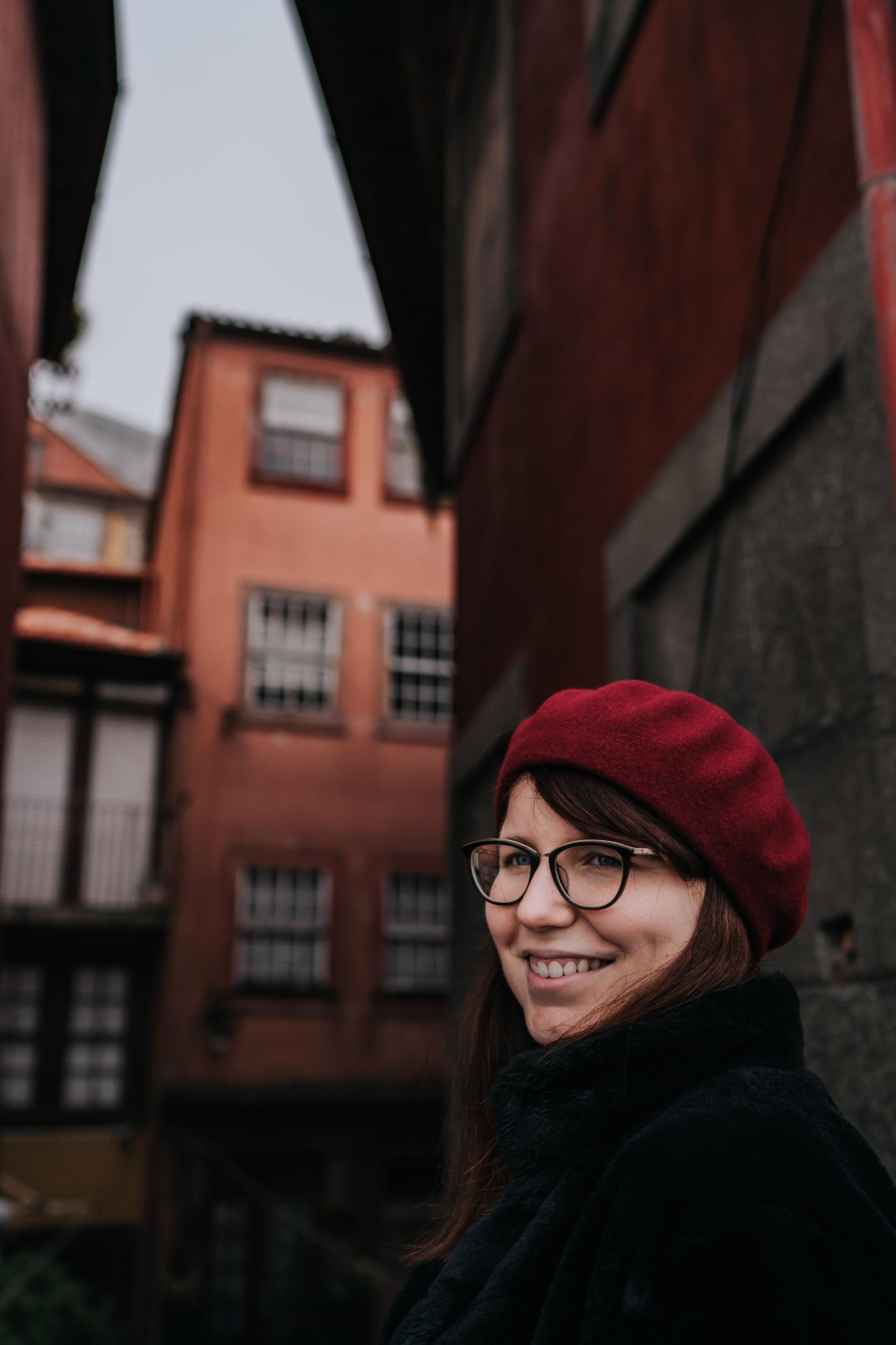 Portrait à Porto au Portugal