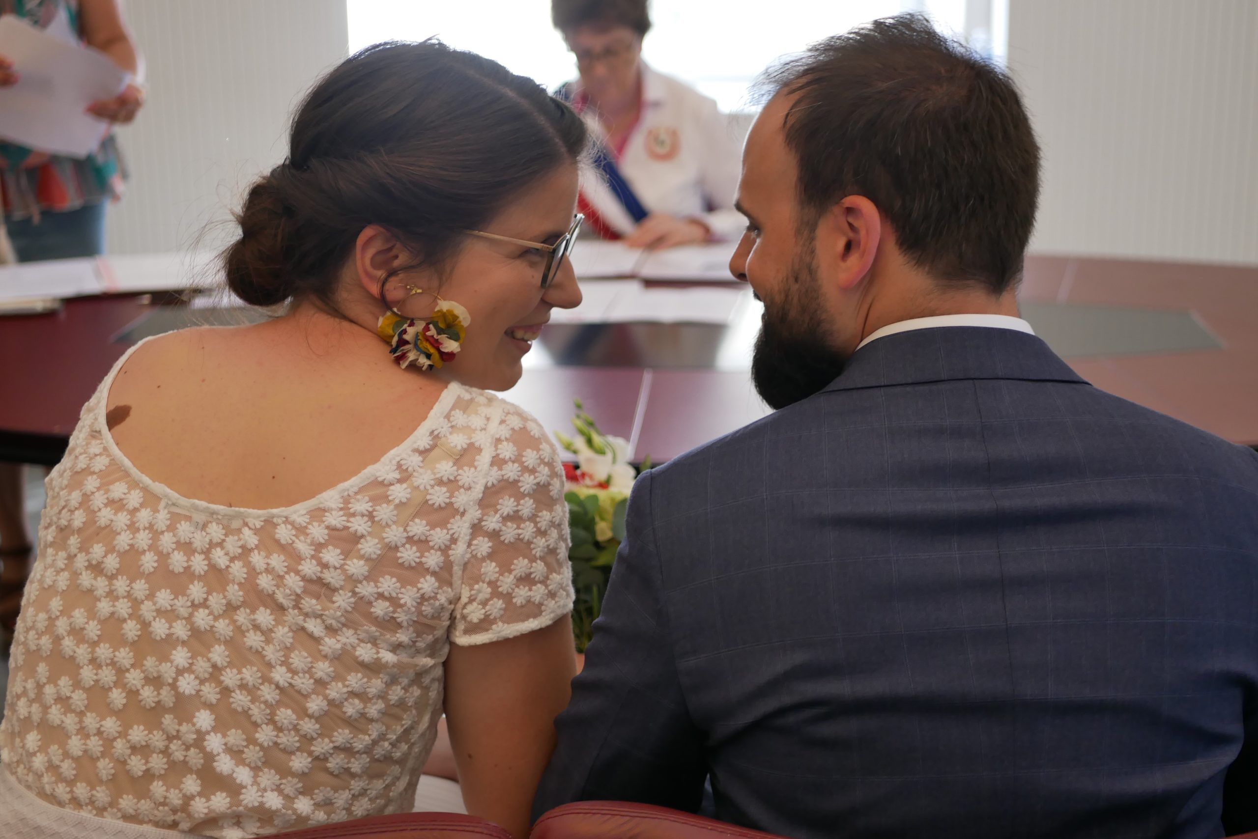 Mon mariage il y a un an à la mairie